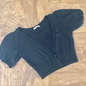 💎🆕Puff sleeve sweater bolero